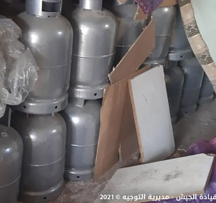 الجيش يضبط مواد مدعومة معدة للتهريب في مجدل عنجر! 1